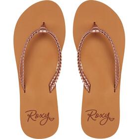 Roxy Costas Sandalias Mujer, rose gold
